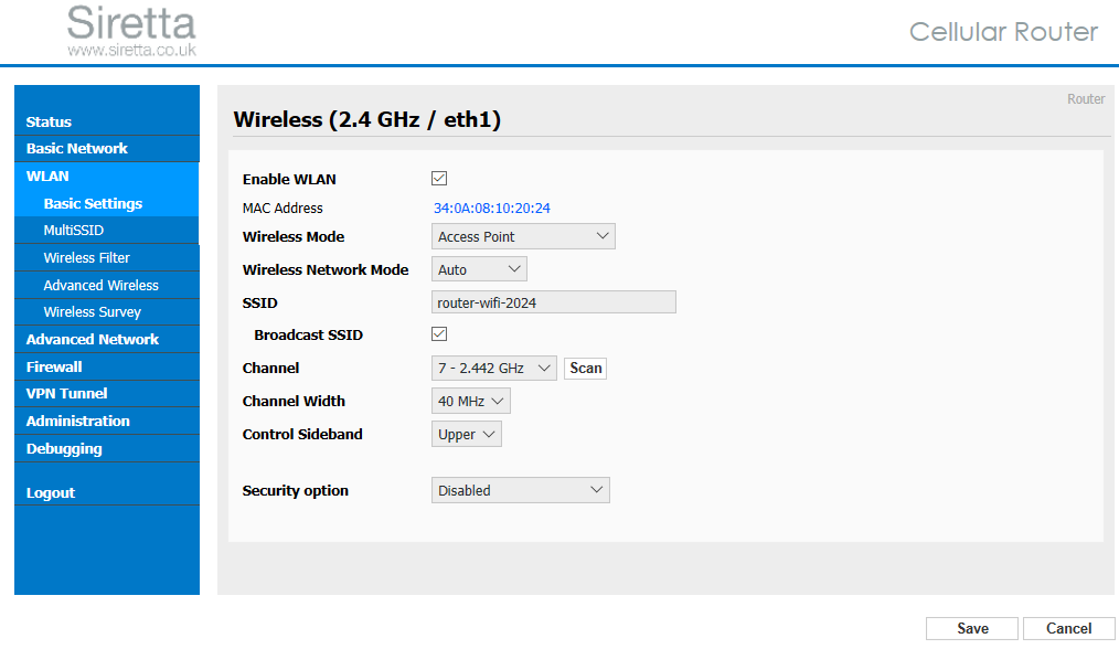 "Configuring ""Captive Portal"" on a Siretta Router – Siretta"