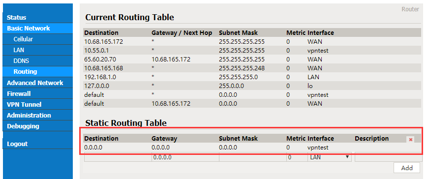 How To Connect a Siretta Industrial Router to a VPN Tunnel